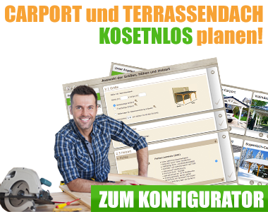 Flachdach Carport bauen in Österreich